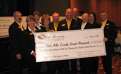 Palo Alto County Gaming Development Corporation (PACGDC) hosted its Eleventh Annual Grant Awards Celebration on Sunday, March 5, 2017, at the Wild Rose Casino & Resort in Emmetsburg.
